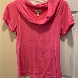 Lilly Pulitzer Cowl Neck Shirt